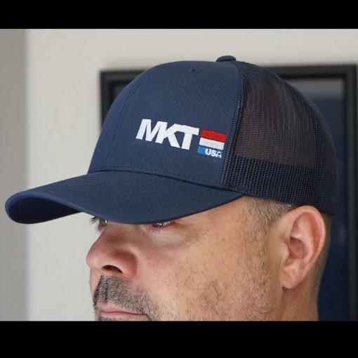 e5fd008a99a Blue Medford MKT USA Snapback Hat – Medford Knife   Tool USA